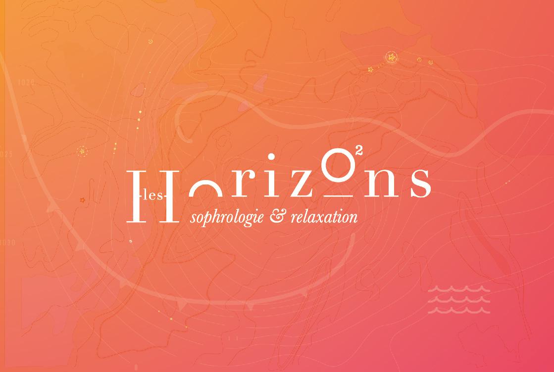 Carte de visite les Horizons - Sophrologie Hendaye